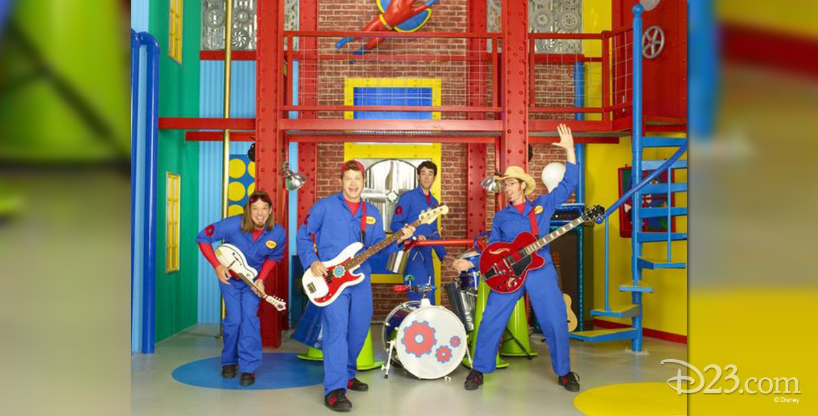Characters from the Disney Channel show Imagination Movers