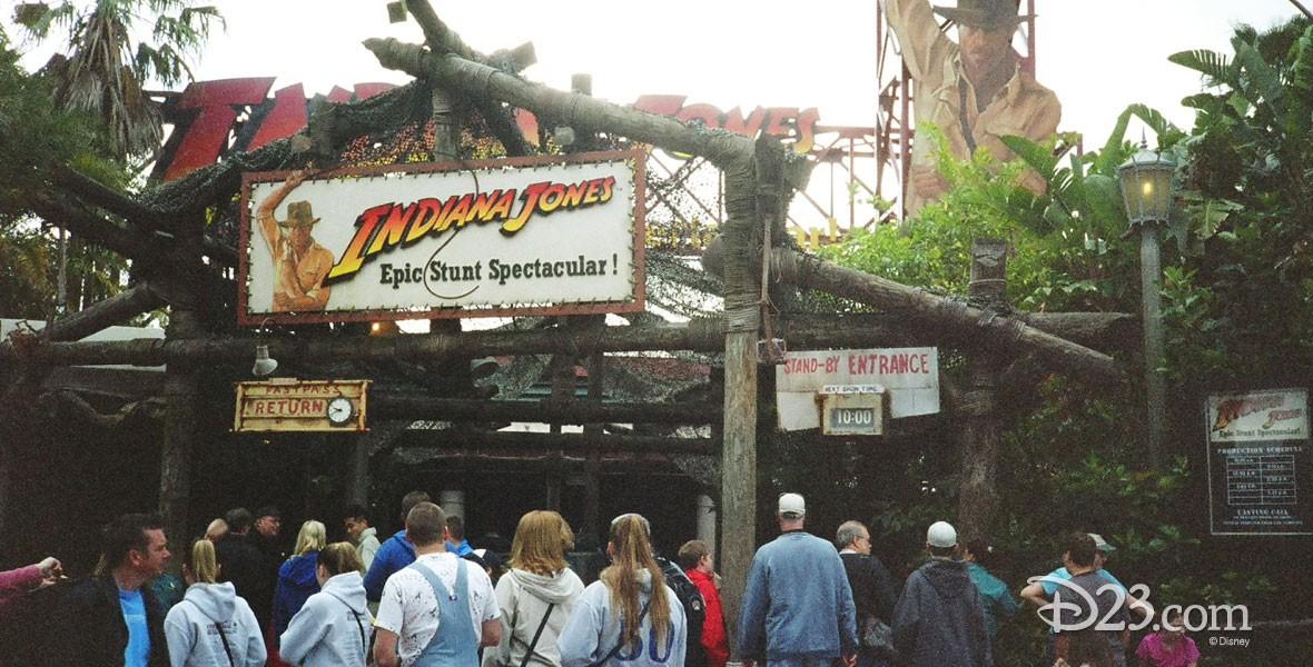 Disneyland attraction Indiana Jones Epic Stunt Spectacular