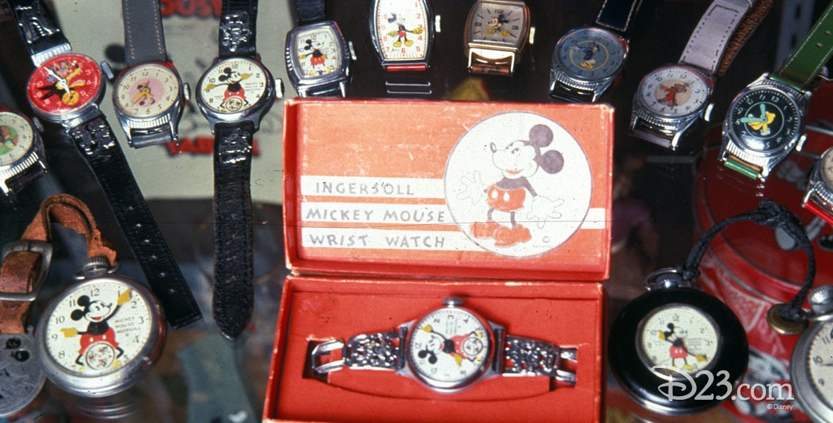 Ingersoll-Waterbury Co. Mickey Mouse watches