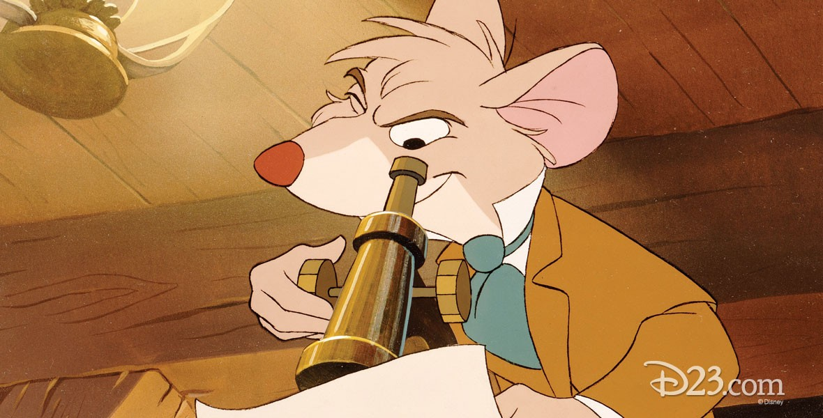 Basil from the Great Mouse Detective