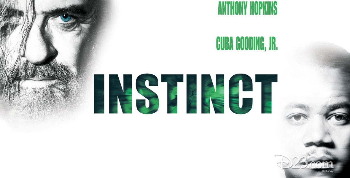 Anthony Hopkins and Cuba Gooding Jr in Instinct