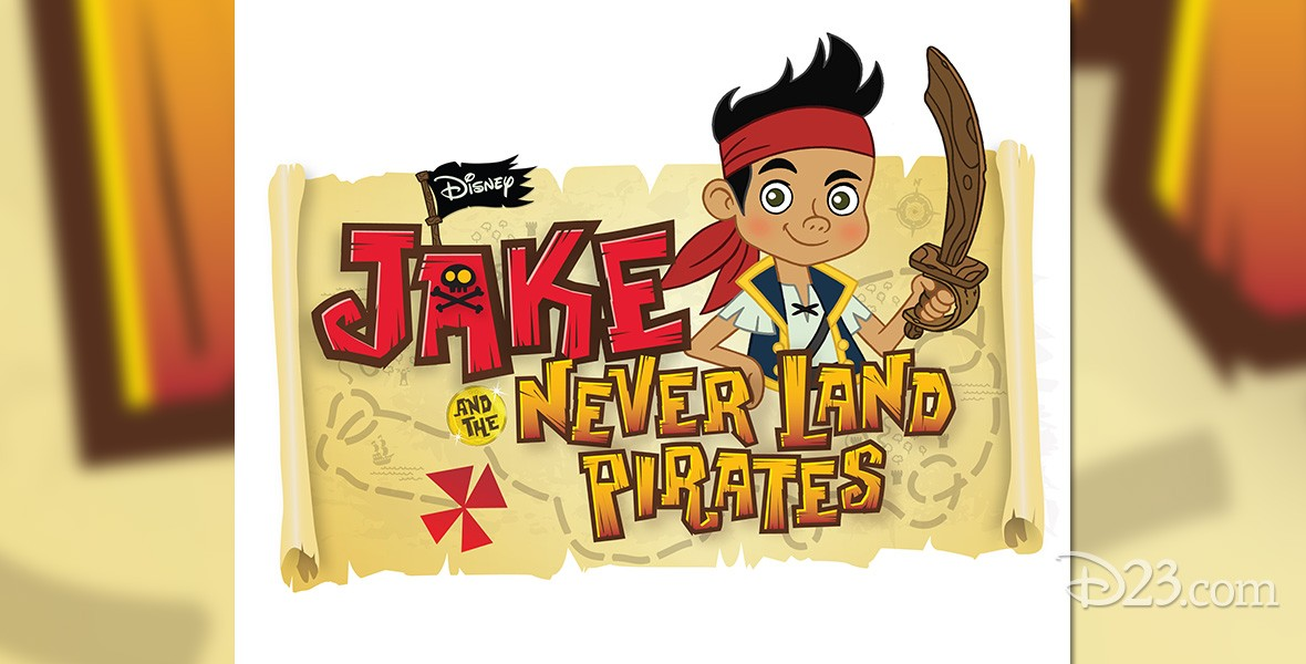 title art for Jake and the Never Land Pirates television animation