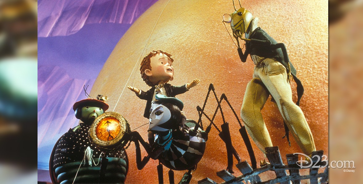still from James and the Giant Peach movie