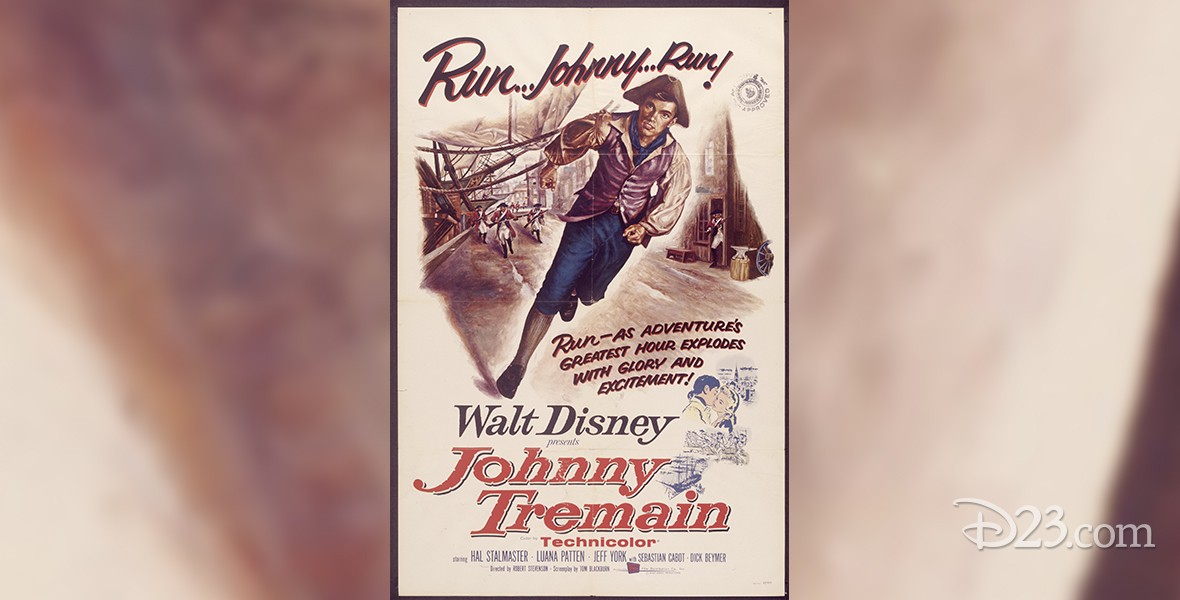 movie poster for Johnny Tremain (film)