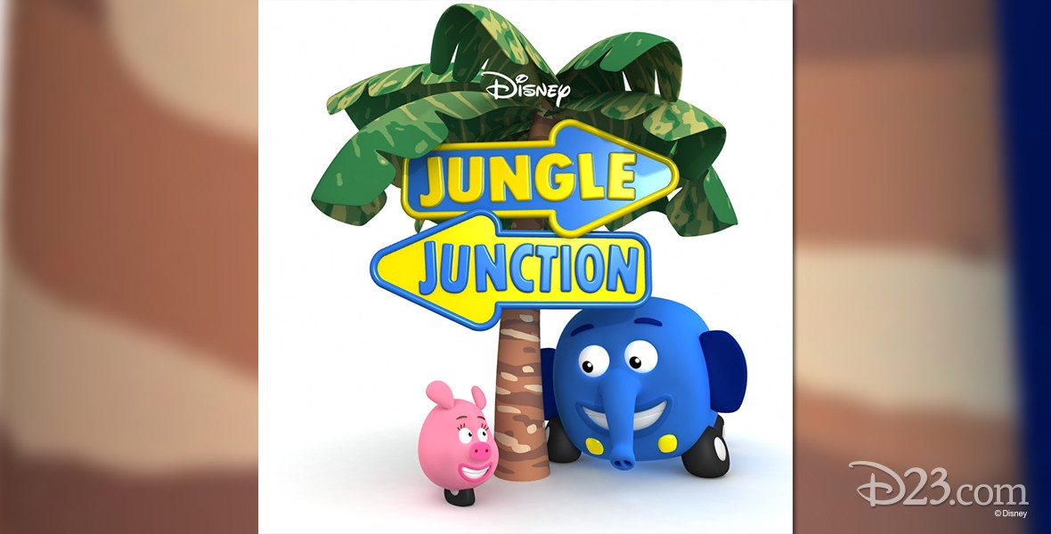 poster for Jungle Junction (television)