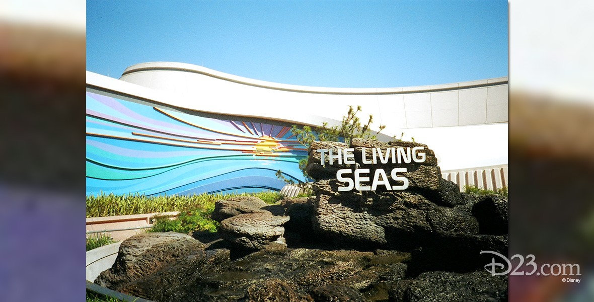photo of The Living Seas pavilion at Epcot