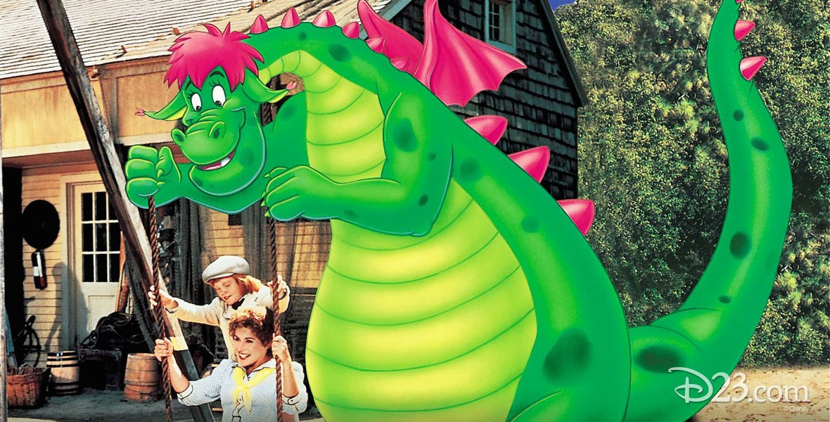 Photo from Pete's Dragon Film