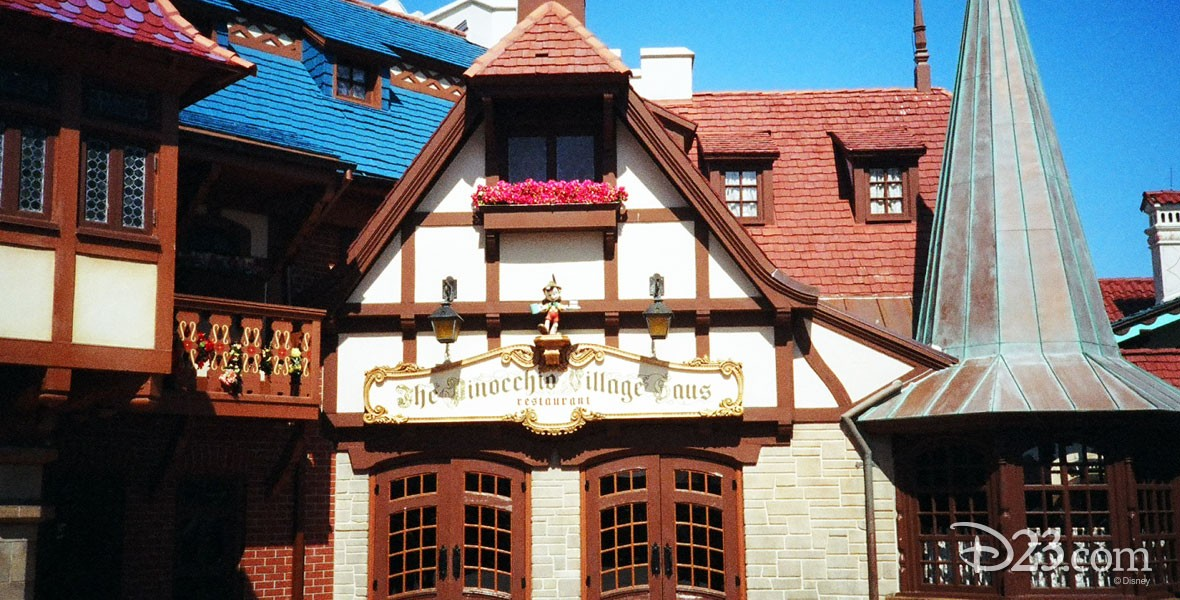 Photo of Pinocchio's Village Haus in Disneyland