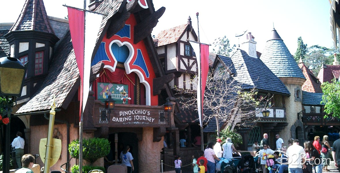 Photo of Pinocchio's Daring Journey in Disneyland