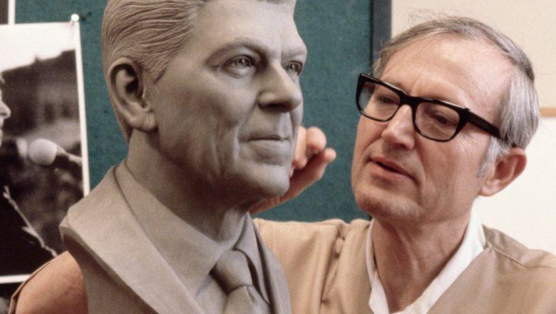 Blaine Gibson sculpting