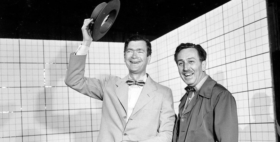 Buddy Ebsen with Walt Disney