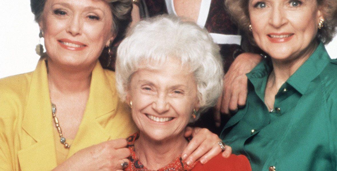 Estelle Getty in The Golden Girls