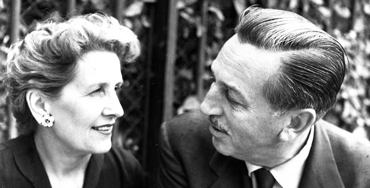 Walt Disney's wife Lillian Disney