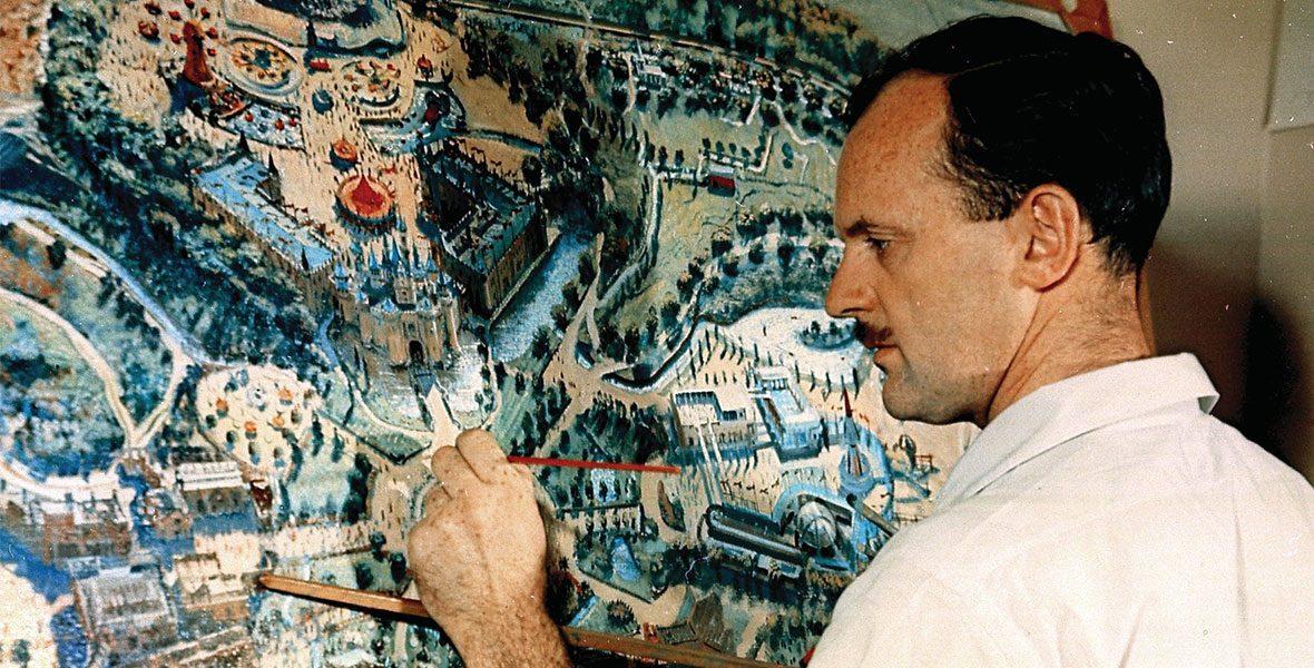 Peter Ellenshaw painting