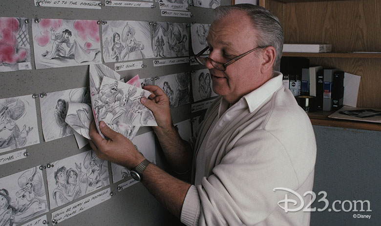 Animation Disney Legend Burny Mattinson