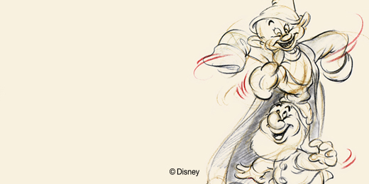 Download Classic Disney Animation Desktop Wallpaper D23