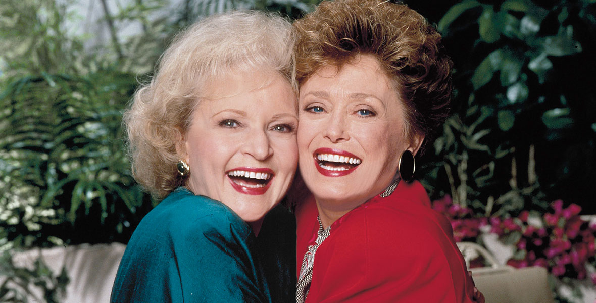 Actress Betty White in The Golden Girls