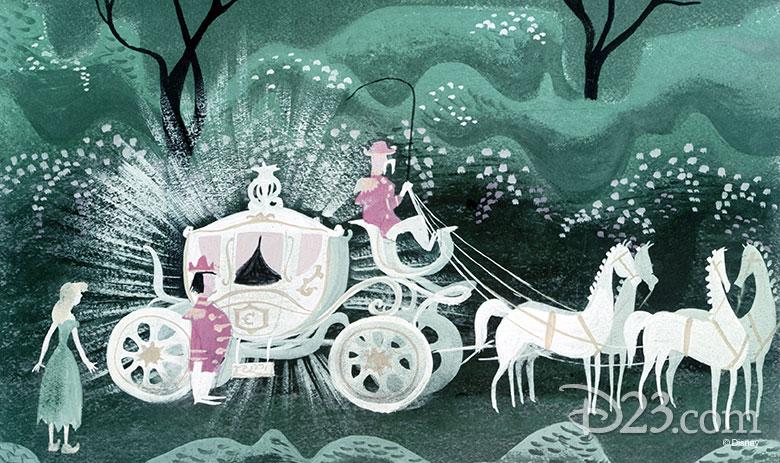 Mary Blair Cinderella Concept art