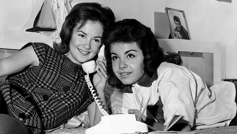 Annette Funicello shelley fabares