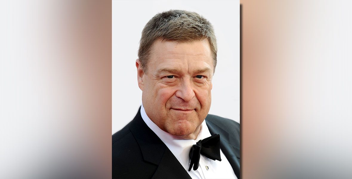 Film and television actor, John Goodman