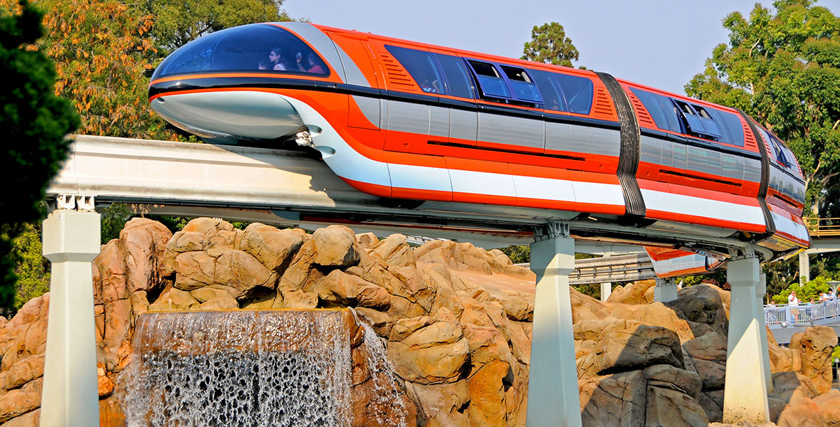 Monorail - Disneyland