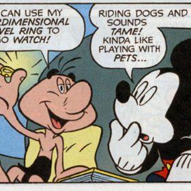 Eega Beeva and Mickey Mouse