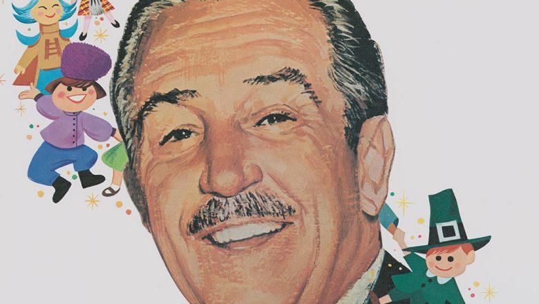 Walt on postage stamp