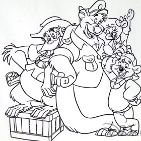 Sketch of TaleSpin Characters