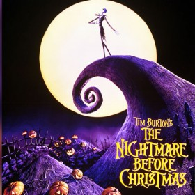 Poster for Tim Burton's A Nightmare Before Christmas