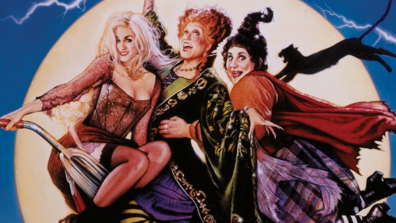 one-sheet movie poster for Hocus Pocus (film)