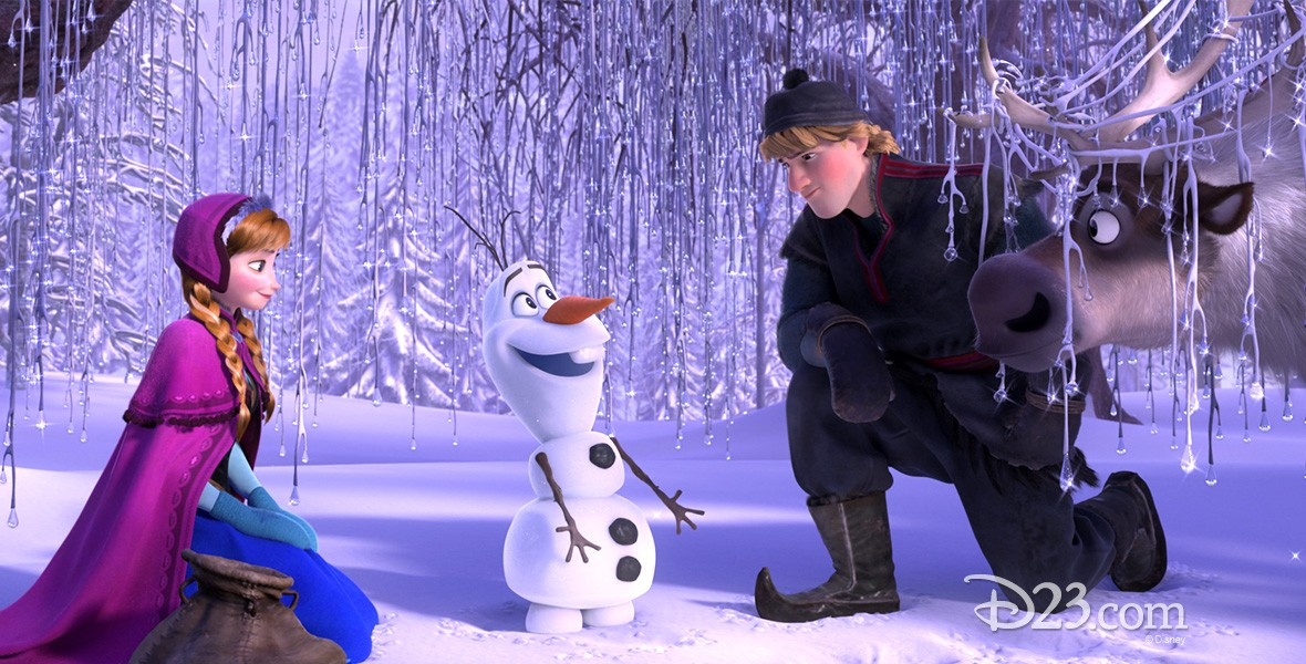 still from animated feature Frozen