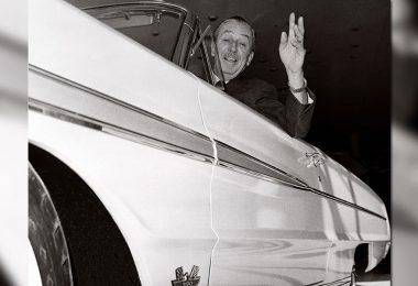 Walt on the Ford Magic Skyway