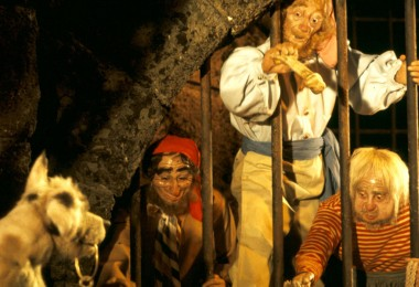 Pirates of the Caribbean Attraction at Disneyland