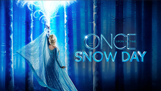 Once Upon a Time Snow Day