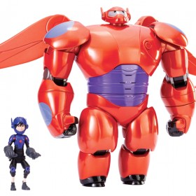 photo of toy figures from the movie Big Hero 6