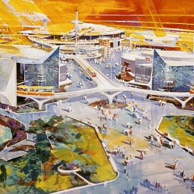 1967 Disneyland Tomorrowland concept art
