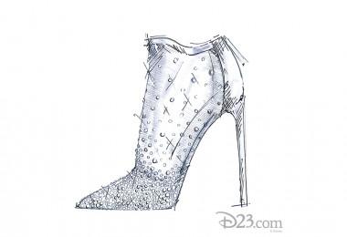 illustration of Cinderella Glass Slipper