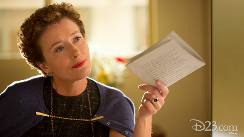 still from the movie Saving Mr. Banks featuring actress Emma Thompson