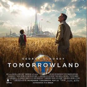 Tomorrowland Movie One-Sheet Poster