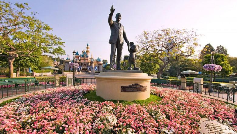 Disneyland Garden