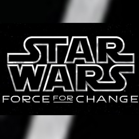 title art for Star Wars Force for Change