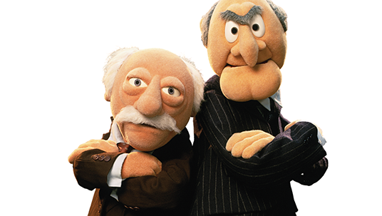 Statler and Waldorf (Muppets)