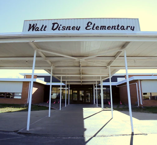 photo of Walt Disney Elementary in Marceline, Missouri