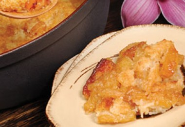 `AMA`AMA's Pineapple-Coconut Cobbler