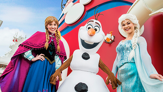 Disney Cruise Line Will Be Home to Land of Frozen This Summer