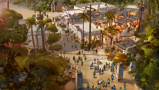 New Africa Marketplace Coming Spring 2015 to Disney's Animal Kingdom