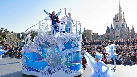 Anna and Elsa's Frozen Fantasy Comes to Tokyo Disney Resort
