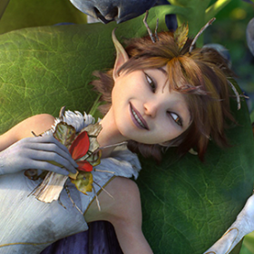 LucasFilm's Strange Magic Characters