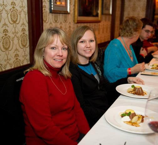Dining at Club 33
