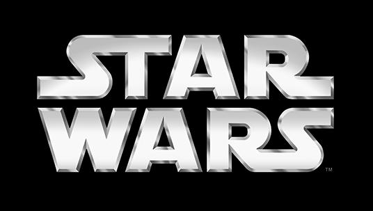 logo title art for Star Wars